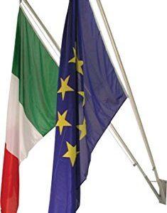 99695 – Trittico Bandiere da Esterno Italia – Europa – Sicilia